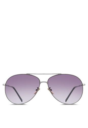 esprit暢貨中心NUVEAU 細框飛行員太陽眼鏡, 飾品配件, 飛行員框