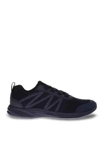 Vionic black Shay Elastic Lace Sneaker 871FCSHE538F0FGS_1