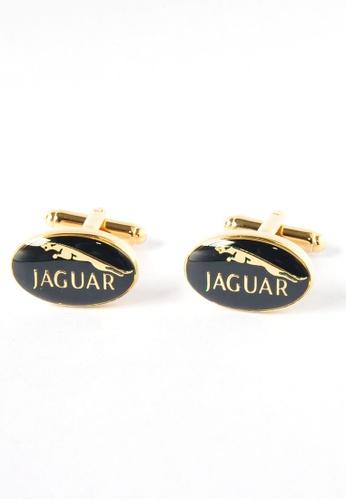 Splice Cufflinks Jaguar Badge Cufflinks SP744AC62DNTSG_1