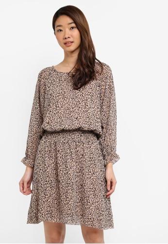 140b5cd97d212 Shop Modstrom Fausia Print Dress Online on ZALORA Philippines
