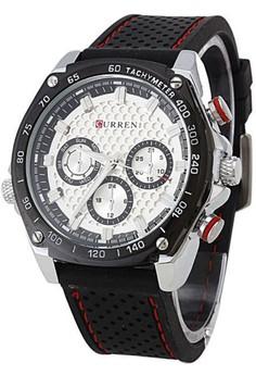 Curren Men's Rubber Strap Watch 8146