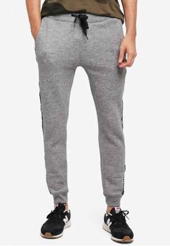 Hollister grey Skinny Fit Graphic Sweatpants HO422AA0T1BGMY_1