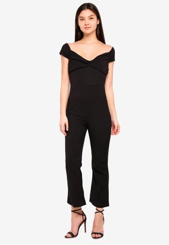 Foxiedox black Thea Jumpsuit AE997AA8DB4463GS_1