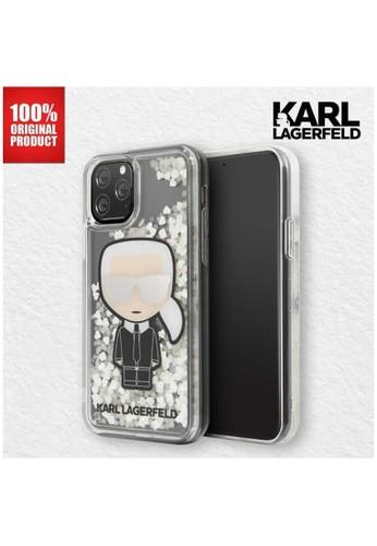 "KARL LAGERFELD multi Karl Lagerfeld IPhone 11 Pro Max 6.5"" - Liquid Glitter Iridescent C637AES24AFBDDGS_1"