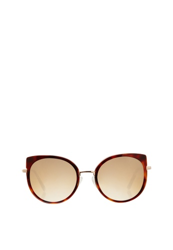 Carin brown Lucy C3 Sunglasses 8B5C4GL5054D2AGS_1