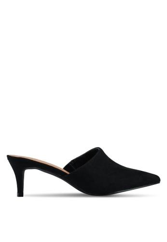 Rubi black Milan Kitten Mule Heels 53D2ASH4B4C448GS_1