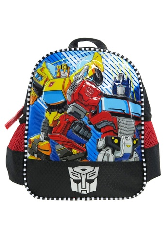 Transformers black and red Transformers TFEG Kids Backpack (10-inch) E1858KCAD0DA83GS_1