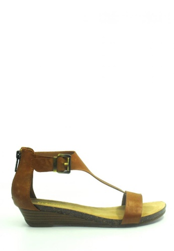 Kenneth Cole New York brown GREAT GAL - Ankle Strap Sandals KE615SH29ADUMY_1