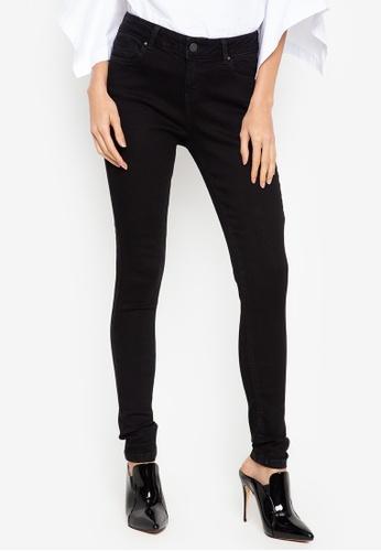 15fb41a932fa Shop Dorothy Perkins Black Bailey Jeans - Regular Online on ZALORA  Philippines