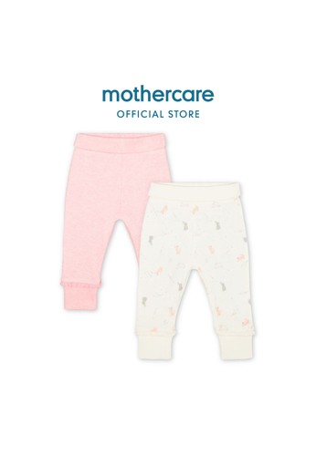 Mothercare pink Mothercare - my first bunny joggers - 2 pack 29D32KA60C085DGS_1