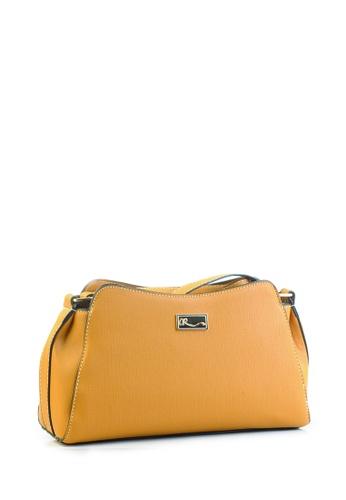 AR by Alfio Raldo yellow AR By Alfio Raldo AB-2306 Shoulder Bag Yellow AR107AC0RTDDMY_1