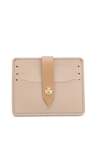 Swiss Polo beige Casual Card Holder 31758ACD078907GS_1
