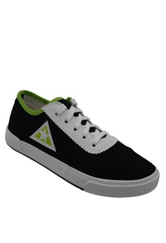 Low Cut High Quality Sneakers Men's Rubber Shoes 515 (black/white)