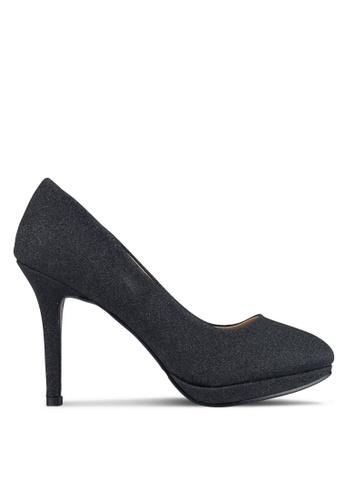 Spiffy black Evening Formal Heels 4E58FSH565BBC3GS_1