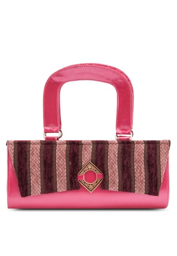 Pride pink and purple Exotic Party Handy Bag PR075AC24YALMY_1