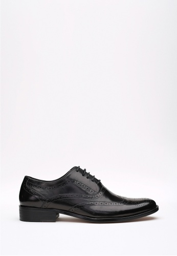 Kings Collection black Camden Derbies Shoes 13E56SH32C2FEBGS_1