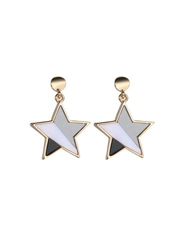 CELOVIS gold CELOVIS - Castor Star Drop Earrings F5469AC5B395FBGS_1