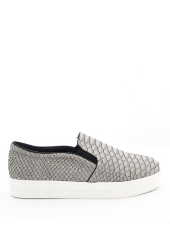 MINKA grey SAINT Grey Slip On MI006SH43MWMID_1