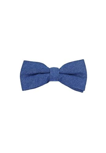 Private Stitch blue Private Stitch Men Pre-tied Bow Tie 69EECAC13225E1GS_1