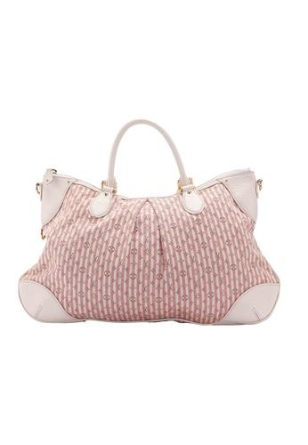 Louis Vuitton pink Pre-loved Louis Vuitton Pink Marina Monogram Hobo Mini Lin BB172AC294F746GS_1