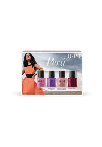 O.P.I multi DCP30 - Fall Collection 2018 - NL - Mini 4 Pack F354ABE3D4C528GS_1