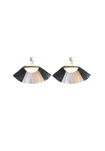 La Miina gold Jetta Earrings DA97AAC66519C5GS_1