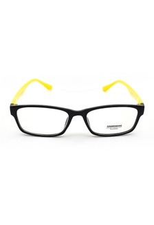351a1381bfc Elitrend Youth Unisex Baseball Cap in White S  14.90 · Plastic Frame Glasses  with Yellow Arm