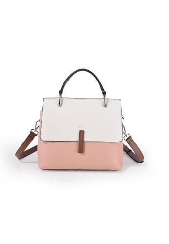 Esfolar 粉紅色 Esfolar Satchel Bag (EA190017) 23117AC53302B6GS_1