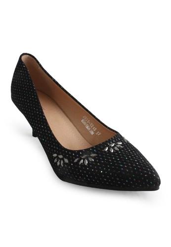 Clarette black Clarette Heels Kyra Black CL076SH78CNHID_1