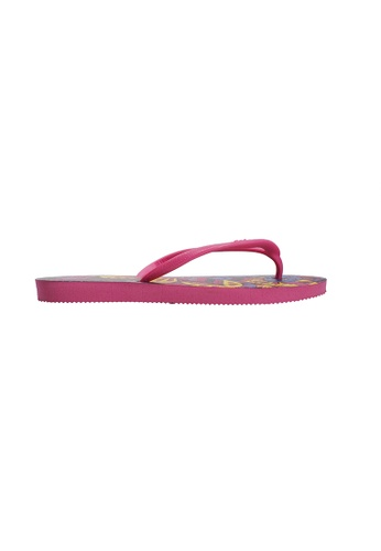 Dupe pink and purple Dupé HYPE Orchid Rose Flip Flops DU634SH50LYZHK_1