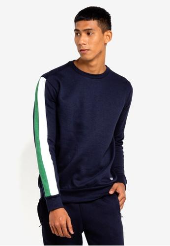 Brave Soul 海軍藍色 條紋上衣 D7330AA0486941GS_1