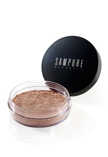 Sampure brown and beige Sampure Instant Glow Mineral Loose Foundation 4.5g (Tan) [SAM105] 0CC9CBEB365A99GS_1