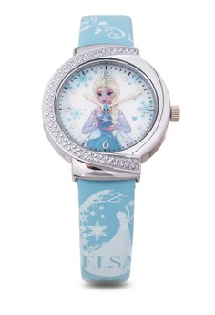 Disney Frozen Leather Strap Analog Watch