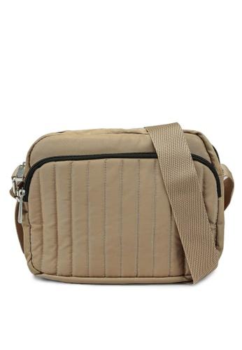 Pieces beige Deci Crossbody Bag E7714ACA1D18D7GS_1