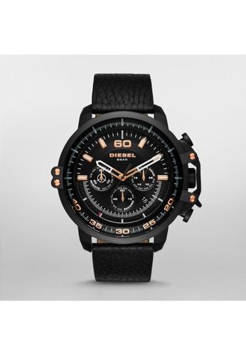 Deadeye三眼esprit 會員卡計時腕錶 DZ4409, 錶類, 時尚型