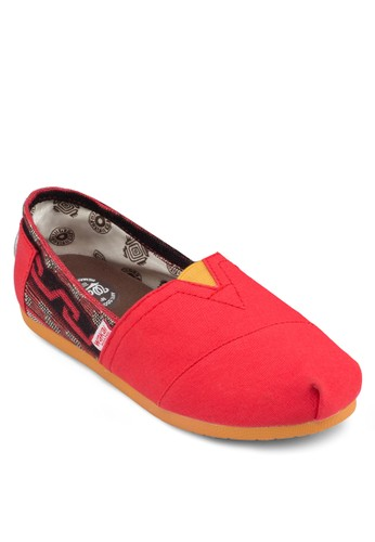 Coahuila zalora 男鞋 評價印花拼接懶人鞋, 女鞋, 鞋