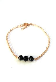 Crystal Charm Dainty Bracelet