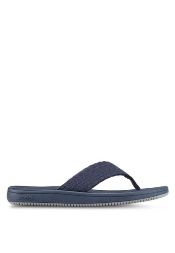 ALDO navy Haoen Sandals 40DD4SH6F593C2GS_1