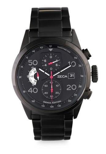 ZECA black Zeca Watches Man Fashion Stainless Steel Analog - 2010MB Black F58C9AC7F321B9GS_1