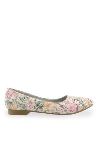 Footspot white FOOTSPOT - Pointed Toe Flats FO296SH42BEFHK_1