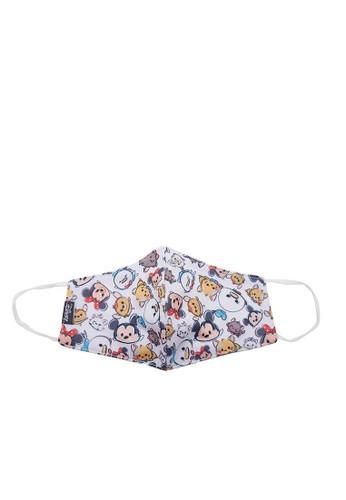 Disney white Disney Masker Kain Anak Perempuan Tsum Tsum 7A4C8ES3BDB880GS_1