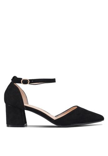 NOVENI black Ankle Strap Heels 21940SH51CC2F4GS_1