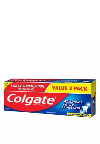 COLGATE Colgate Maximum Cavity Protection Great Regular Flavour Toothpaste Valuepack 225g x 2 CE4F3ESE471AEBGS_1