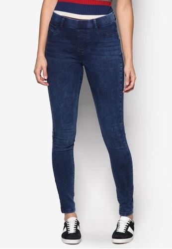 Eden 彈性丹寧緊身長褲、 服飾、 服飾DorothyPerkinsEden彈性丹寧緊身長褲最新折價