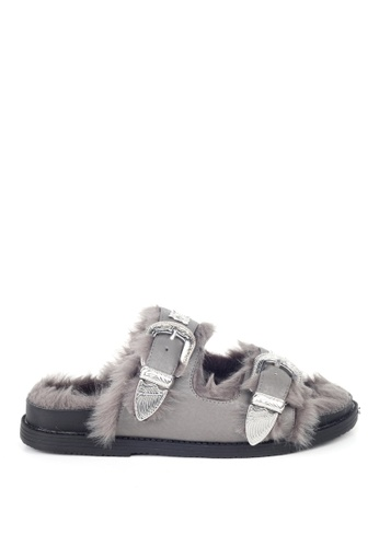 London Rag 灰色 灰色托鞋 84720SH98D6A17GS_1