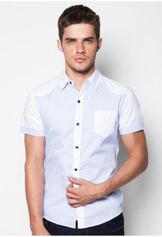 Noah Short Sleeve Button Down Shirt