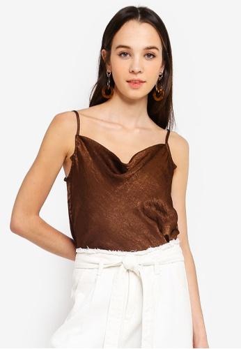 2462f82e32e0 Shop Cotton On Delta Cowl Neck Cami Top Online on ZALORA Philippines