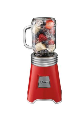 Oster n/a Ball® Mason Jar Blender with 2 600mL Mason Jars Red with Nestle All Purpose Cream 78FF0HL94EF7EBGS_1
