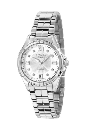 Bonia Watches silver Bonia 3 Hands Stainless Steel 34mm Women Watch BNB10435-2317 ED631AC8CE2C8FGS_1