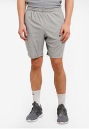 2GO grey Elasticised Waistband Performance Shorts 2G729AA0S5W6MY_1
